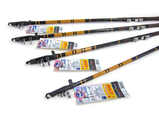 浜名湖のボート釣りにて黒鯛やキビレを狙うのに設計された専用竿。グラス素材を採用したことにより魚の食い込みが非常に良くなっています。黒鯛、キビレ以外にも浜名湖の様々な釣りに対応します。オール富士工業製ガイド!!